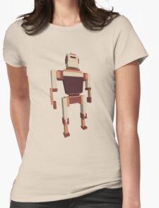 heartless robot Womens Fitted T-Shirt