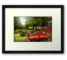 Japanese - Harmony and Nature Framed Print
