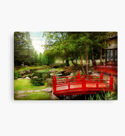 Japanese - Harmony and Nature Canvas Print