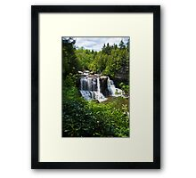 Black Water Falls, West Virginia, USA Framed Print