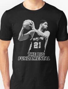 TIM DUNCAN - THE BIG FUNDAMENTAL Unisex T-Shirt