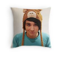 Danisnotonfire Llamarmy  Throw Pillow