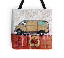 Graffiti Van Tote Bag