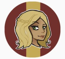 Chibi Cersei Lannister - Round Sticker 02 by BlackLemonJuice