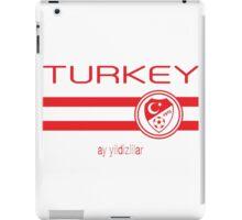 Euro 2016 Football - Turkey (Away White) iPad Case/Skin
