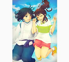 Chihiro and Haku - Spirited Away Unisex T-Shirt
