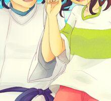 Chihiro and Haku - Spirited Away Sticker