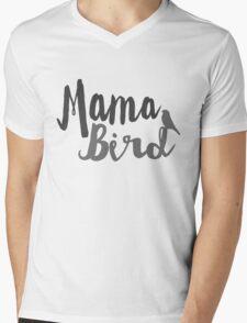 Mama Bird Mens V-Neck T-Shirt