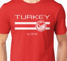 Euro 2016 Football - Turkey (Home Red) Unisex T-Shirt