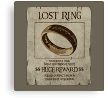Lost Ring Canvas Print