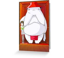 Spirited Away Greeting Card