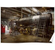 Locomotive - Repairing history Poster