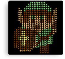The Legend of Zelda - Link x1000 Canvas Print