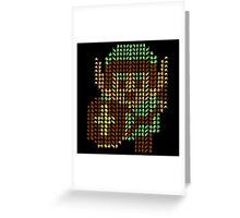 The Legend of Zelda - Link x1000 Greeting Card