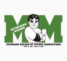 Mitsuharu Misawa - Standard Bearer by strongstyled