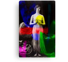 Artist Muse RGB Canvas Print