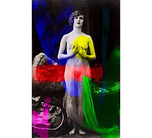 Artist Muse RGB Photographic Print