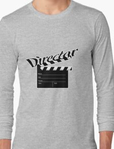 Director- film clapperboard Long Sleeve T-Shirt