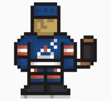8-Bit Gretzky Sticker by tbeb
