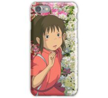 Running through the Flowers - Spirited Away iPhone Case/Skin