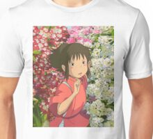 Running through the Flowers - Spirited Away Unisex T-Shirt