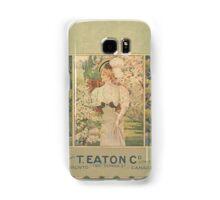 Victorian/Edwardian Illustration Galaxy Samsung Galaxy Case/Skin