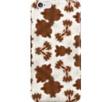 Cowfurscope Brown II iPhone Case/Skin