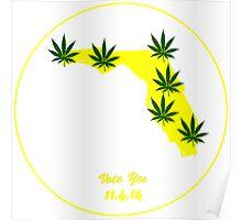 Florida Legal Marijuana Vote  Poster