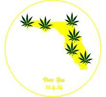 Florida Legal Marijuana Vote  Photographic Print