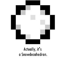 Undertale - Snowdecahedron (Alternate) by epicdude89