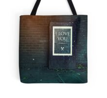 London ILY Sign Tote Bag