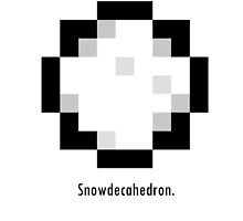 Undertale - Snowdecahedron by epicdude89