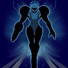 Super Smash Bros. Black/Dark Samus Silhouette by jewlecho