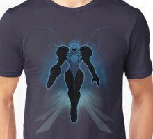 Super Smash Bros. Black/Dark Samus Silhouette Unisex T-Shirt