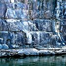 Green Pool Rock Wall by Rhapsody