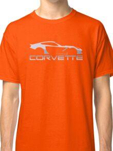 corvette grayscale Classic T-Shirt
