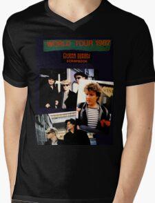 Vintage Duran Duran  Mens V-Neck T-Shirt