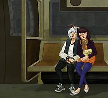Subway Ride Back by mr-workaholic