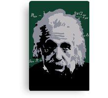 Albert Einstein Pop Art Canvas Print