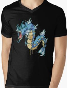 Gyarados Mens V-Neck T-Shirt