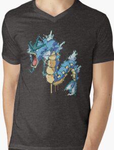Gyarados Mens V-Neck T-Shirt
