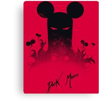 Dark Mouse Canvas Print