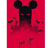 Dark Mouse Photographic Print