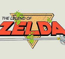 The Legend of Zelda Logo by Studio Momo╰༼ ಠ益ಠ ༽