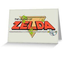 The Legend of Zelda Logo Greeting Card