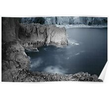 Ghost Rock. Infra Red Poster