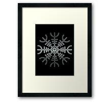 Aegishjalmur / Helm of Awe - reel steel Framed Print