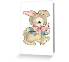 Playful Bunny Greeting Card