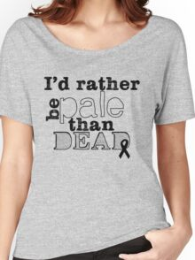 Melanoma Awareness Women's Relaxed Fit T-Shirt