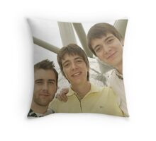 James, Oliver and Matthew Throw Pillow